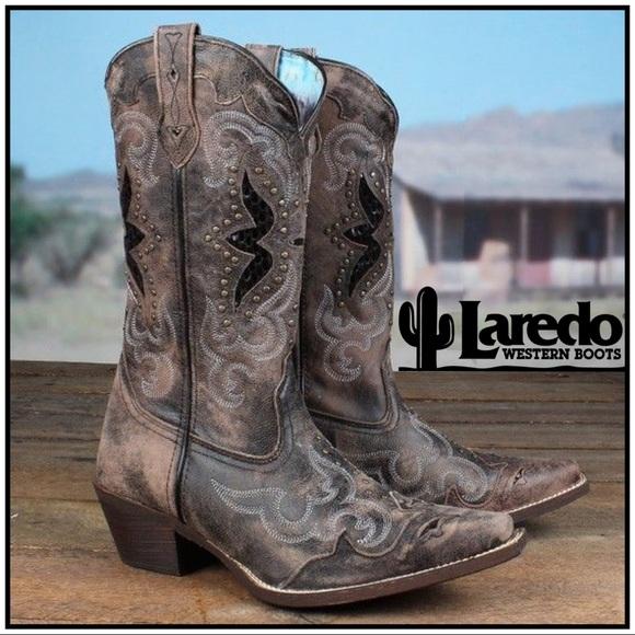 d41ec2b5231 Laredo Lucretia Leather Western Boot